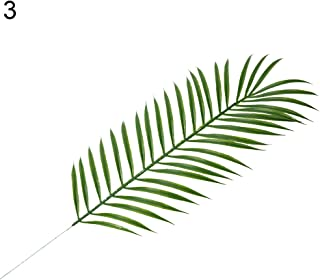 Cuiedailqhb 1Pc Nordic Pine Branch Coconut Palm Leaf Artificial Plant Blogger Photo Prop for Valentine's Day, Christmas, Other Holidays 3#