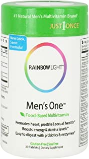 Rainbow Light, Multivitamin Mens One Just Once, 30 Tablets