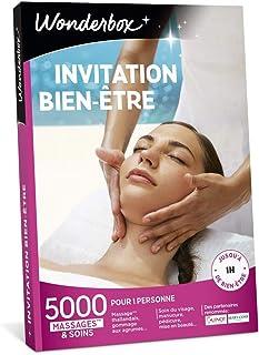 Wonderbox - Coffret cadeau - INVITATION AU BIEN ETRE – 5000 soins du visage, gommage aux agrumes, beautés des mains, accès...