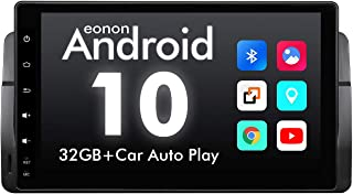 2020 Car Stereo, Eonon 9 Inch Car Radio,Android 10 Head Unit, Applicable to 3 Series 1999-2004(E46),Support Split Screen, ...
