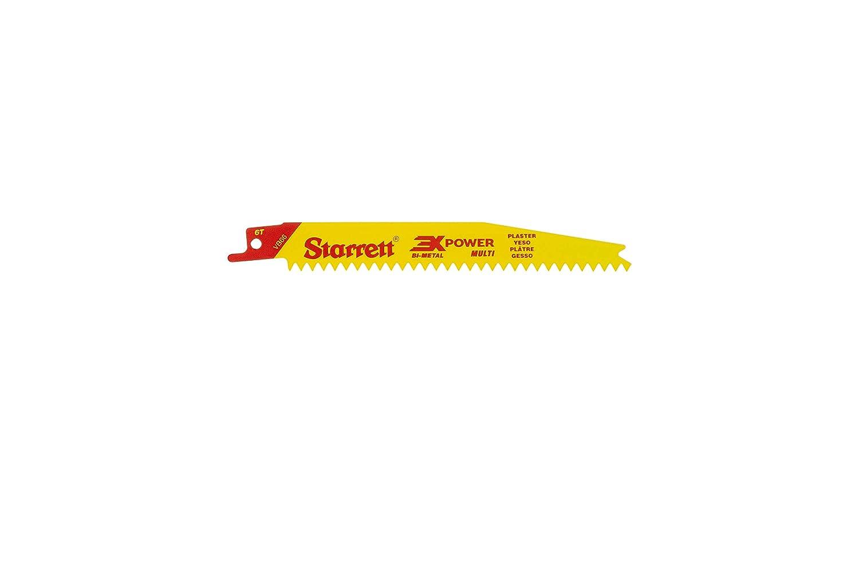 Starrett VB66-5 Special Campaign Bi-Metal Translated Straight Special Plaster Cutting Purpos