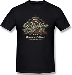 AVBER Bl-atz Beer Milw-Auk-ee Awesome Cotton Mens Tshirt