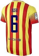 XAVI #6 FC Barcelona Away Jersey 2013/2014 (S)