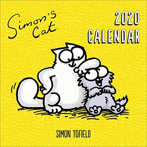 Simon's Cat Kalender 2020 - Offizieller Wandkalender 2020, 12 Monate, Heftbindung, englische Ausführung.