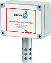Dwyer Series RHP RH/Passive Temperature Sensor Transmitter, OSA (Outside Air), 4-20 mA RH Output, 4-20 mA Temperature Output