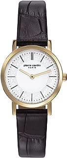 Bonne Nouvelle Gold Women Brown Leather watch-PC108112F02