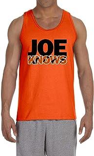 Tobin Clothing Orange Cincinnati Joe Knows Tank Top Shirt
