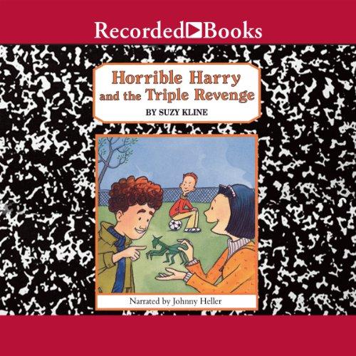 Horrible Harry and the Triple Revenge audiobook cover art