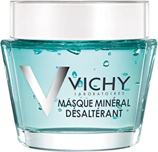 Vichy Mineral Mask with Vitamin B3 to Hydrate & Refresh Dry Skin, Paraben-Free, 2.54 Fl Oz