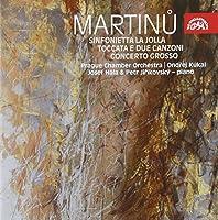 Martinu - Sinfonietta La Jolla by Prague CO (2008-11-25)