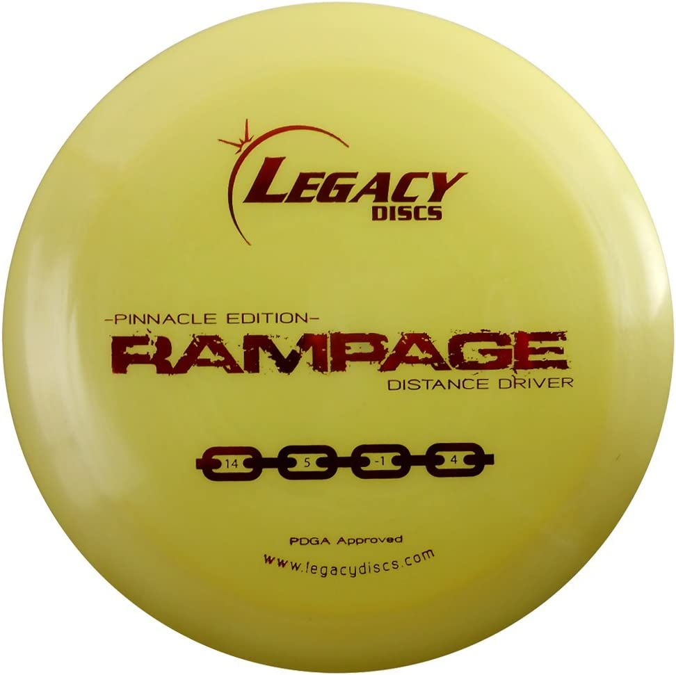 Max 87% 2021 autumn and winter new OFF Legacy Discs Pinnacle Edition Rampage Disc Distance Golf Driver