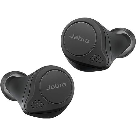 [Amazon.co.jp限定] Jabra 完全ワイヤレスイヤホン アクティブノイズキャンセリング Elite 75t ブラック Bluetooth® 5.0 マルチポイント [国内正規品]