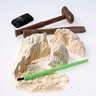 US Toy Dinosaur Skeleton Fossil Excavation Kit (4 Piece)