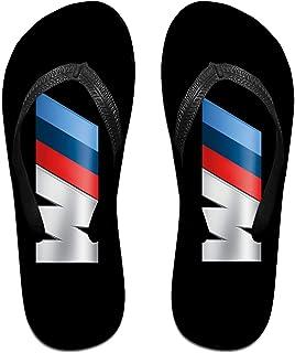 M-Logo Pantoufles Tongs Antidérapantes Pour Hommes Tongs De Plage