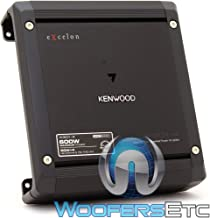 Kenwood Excelon X301-4 4-Channel Car Amplifier