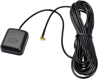 Antena externa GPS activa con fijacíón magnética para TomTom One;con un enchufe de ángulo MCX de 90° y una fijación magnética