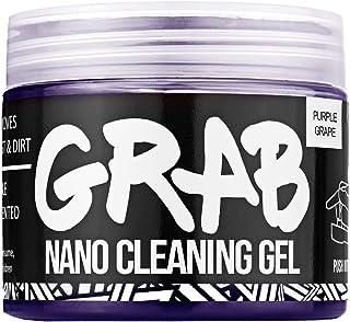 IT Dusters Grab Nano Gel de nettoyage pour clavier et extracteur de saleté Violet raisin