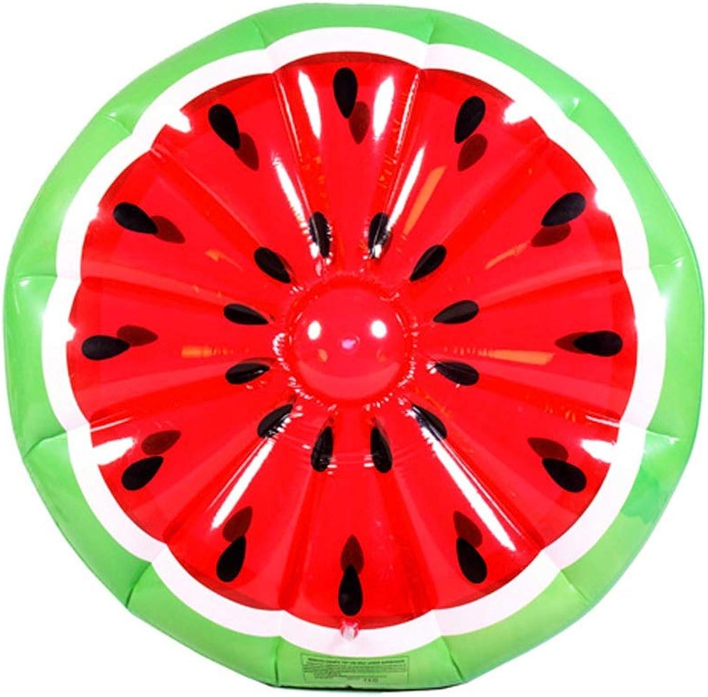 Wassermelone Schwimmen Ring 150 cm Erwachsene Kinder Wasser Spielzeug aufblasbare schwimmende Bett Wassermelone Schwimmen schwimmende Bett