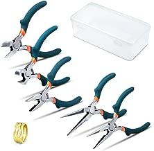 65mm tama/ño: 220 mm KS Tools 115.1042 Tenazas para abrazaderas de mangueras click