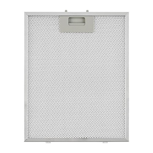 Klarstein Aluminium-Fettfilter Austauschfilter für Dunstabzugshauben (26 x 32 cm, Klickverschluss, Aluminium) silber