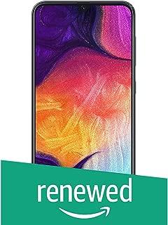 (Renewed) Samsung Galaxy A50 (Black, 6GB RAM, 64GB Storage) Without Offer