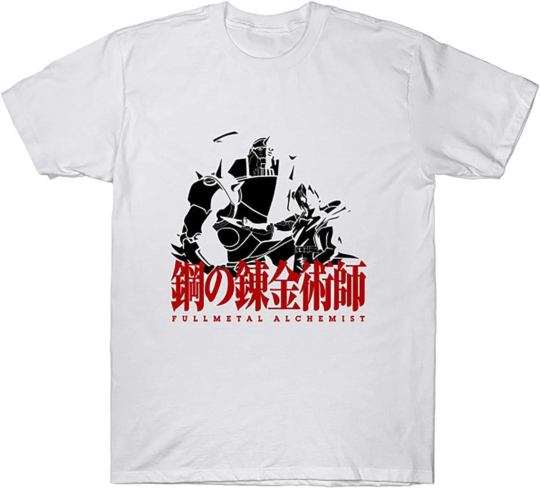 Anime Sale price Fullmetal Alchemist Negative T-Shirt Space Hoo Brotherhood New sales