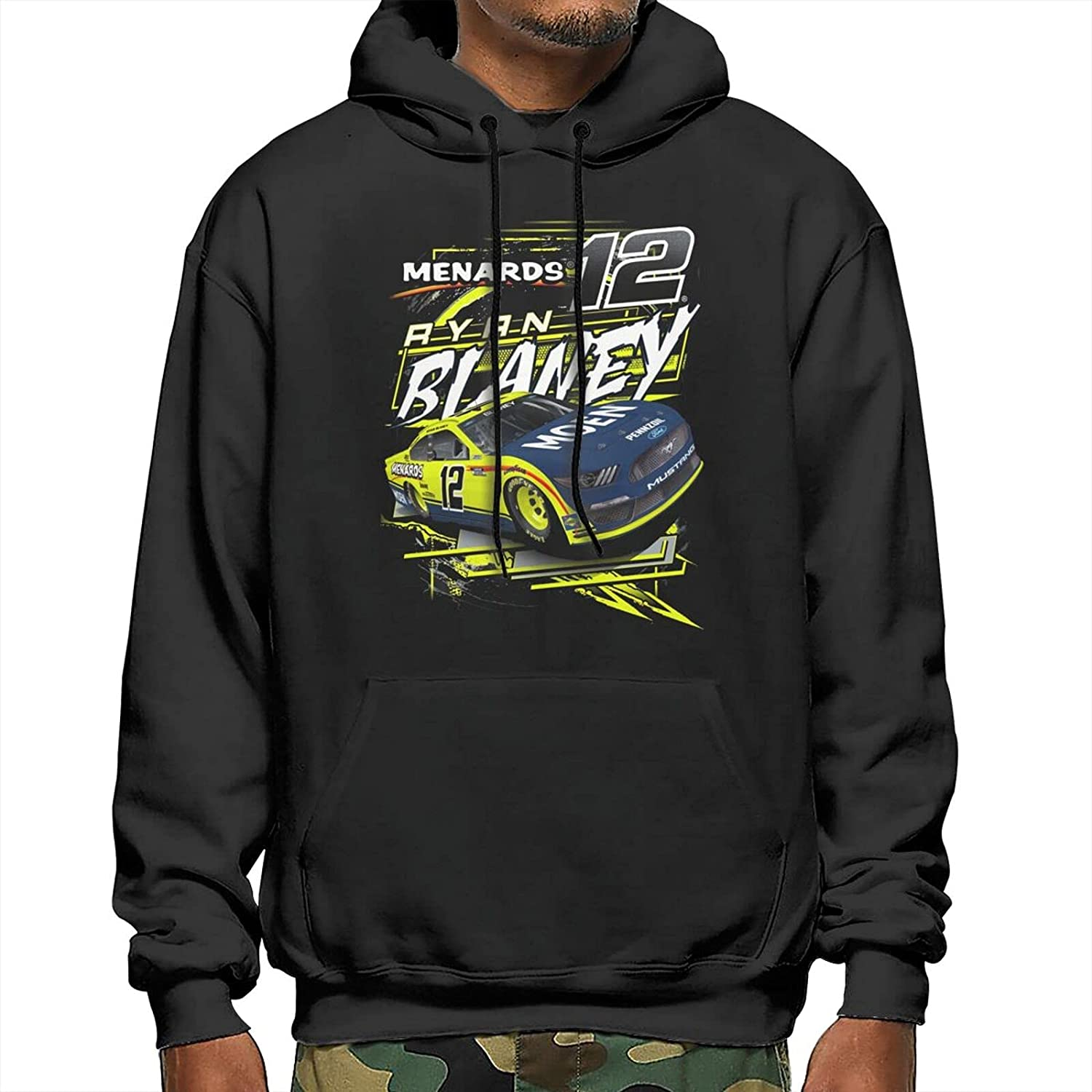 GAiNViEW Free shipping on posting reviews Ryan Blaney 2021 Men's Beauty products Loose Pullover Sweatshirt Hoodie