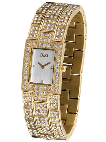 D&G Dolce&Gabbana Damen-Armbanduhr C'EST CHIC IPG SLV DIALBRACELET DW0007