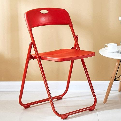 WXQY Chaise Pliante en métal Chaise Pliante portable Loisirs Bureau réunion Camping Chaise d'extérieur