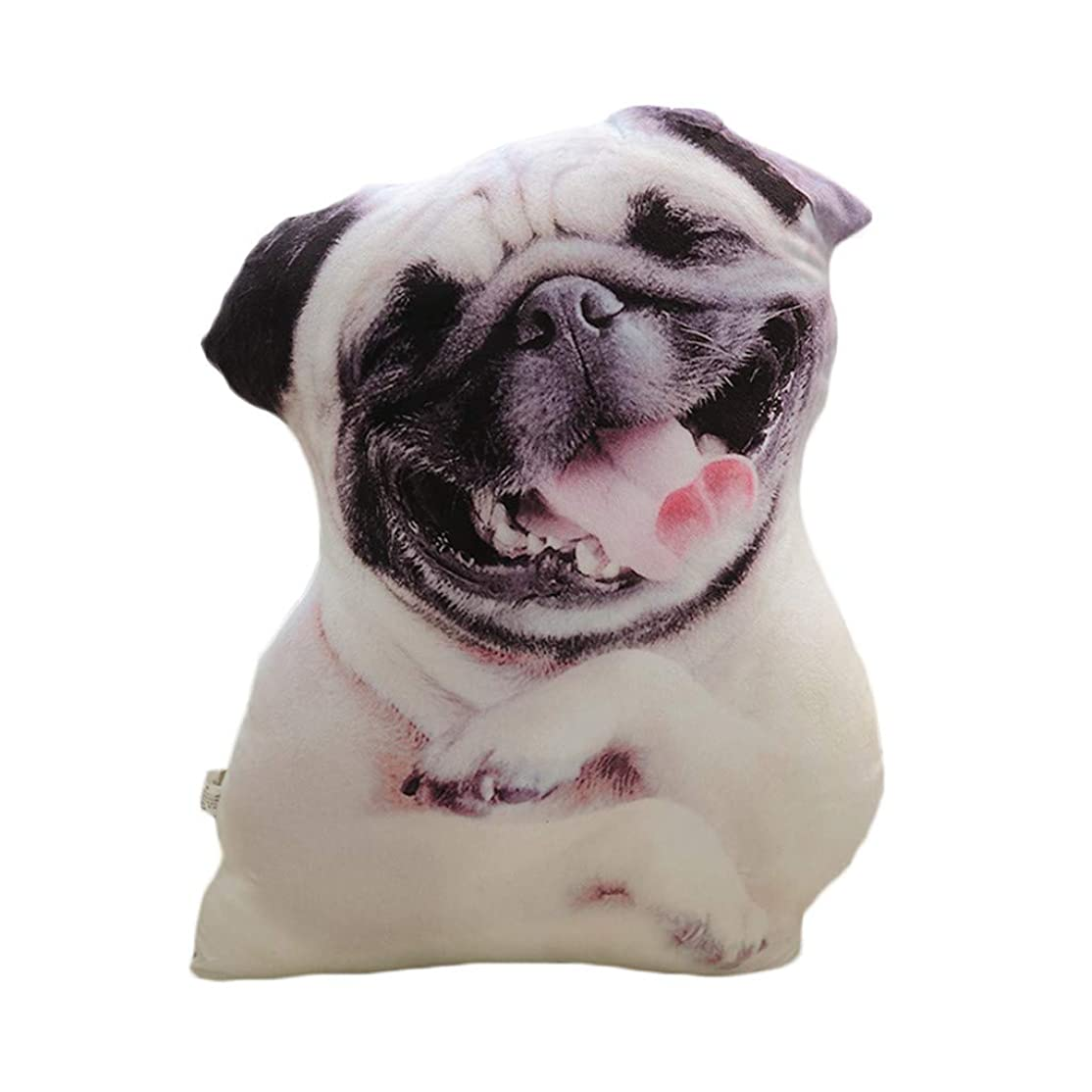 おしゃれなモック踏み台LIFE 装飾クッションソファおかしい 3D 犬印刷スロー枕創造クッションかわいいぬいぐるみギフト家の装飾 coussin decoratif クッション 椅子