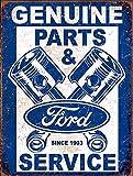 RABEAN Genuine Ford Service Retro Blechschilder Aluminium