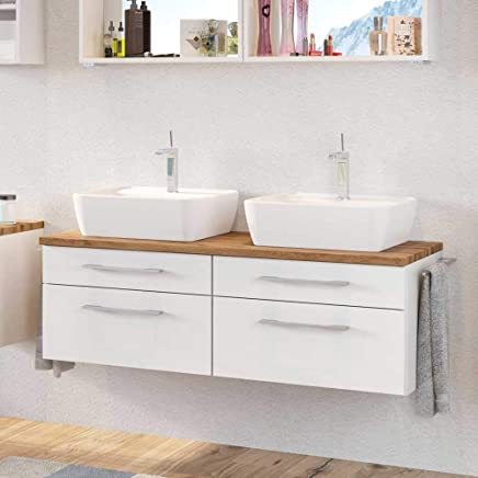 Suchergebnis auf Amazon.de für: Doppelwaschbecken Unterschrank ...