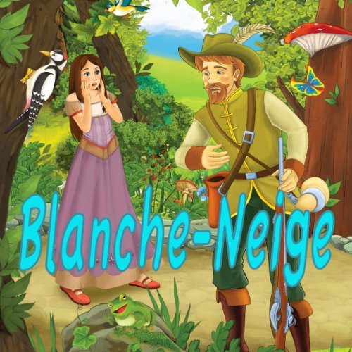 Blanche-Neige audiobook cover art