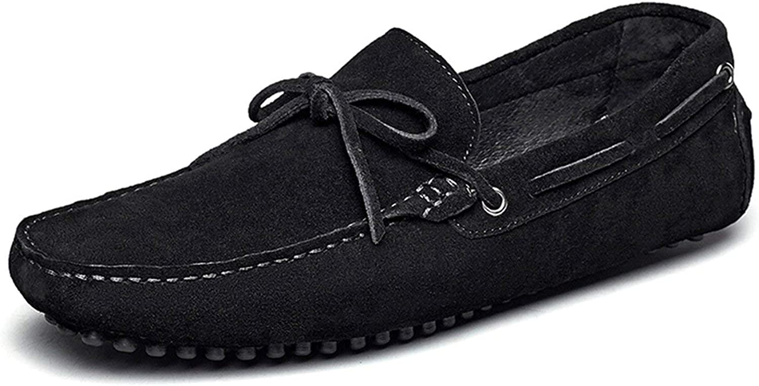 Youthern Men's Leather Boat shoes Driving Walking Outsole Casual shoes 8812GE80305W