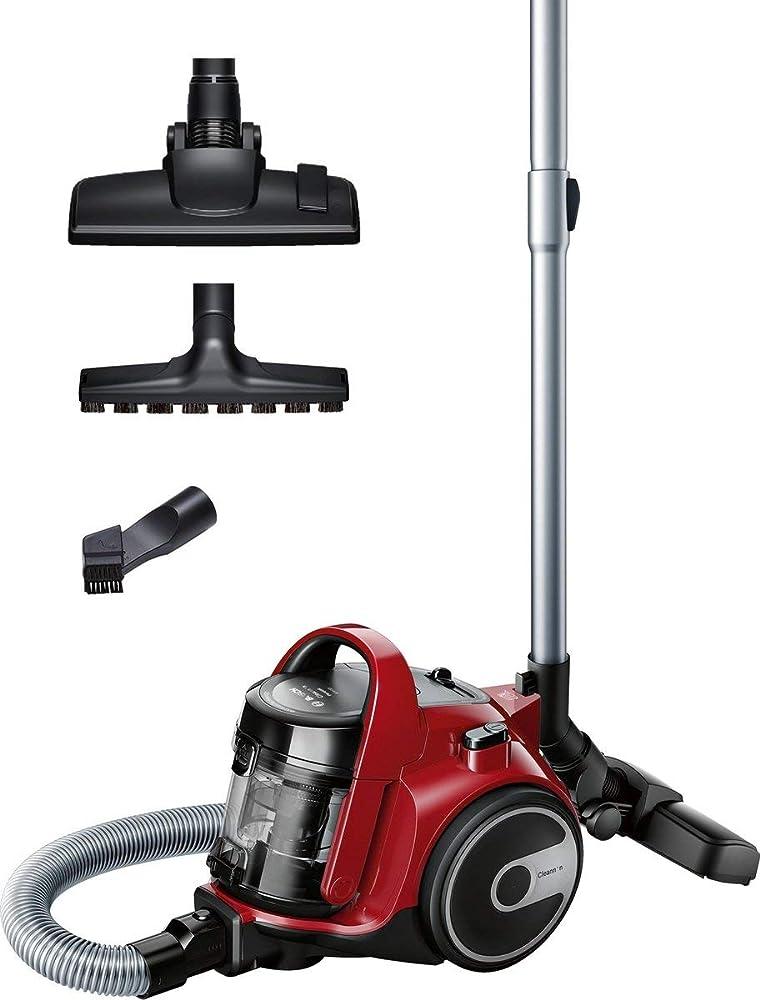 Bosch, aspirapolvere a carrello senza sacco, 700 w, 1.5 litri BGC05AAA2