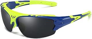 Aigemi Polarized Sports Sunglasses for Men Women Cycling Running Driving Fishing Golf Baseball