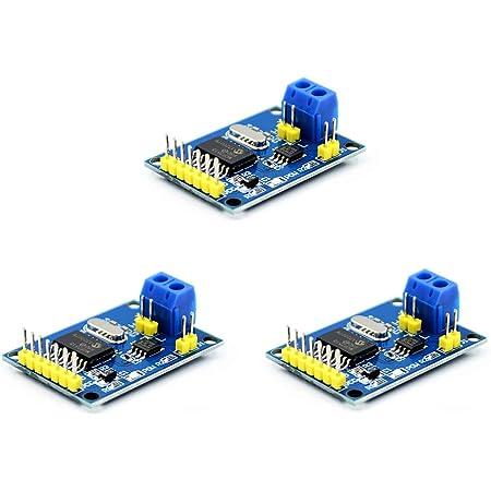Calloy MCP2515 CAN バス モジュール TJA1050 レシーバーSPIモジュール Arduino適用 3個