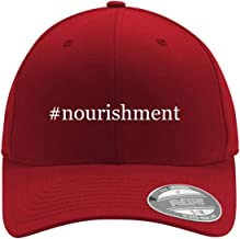 #nourishment - Adult Men's Hashtag Flexfit Baseball Hat Cap