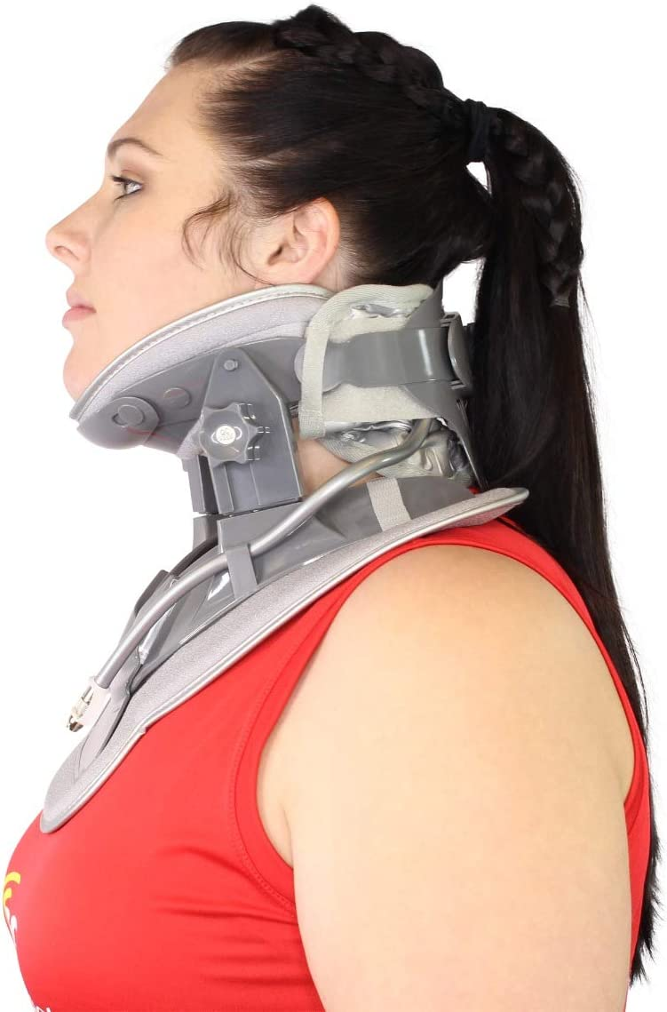 Cervical Neck Air Traction Collar Stretcher- Relief クリアランスsale!期間限定! 希望者のみラッピング無料 and for