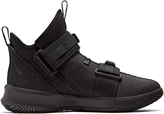 Nike Lebron Soldier 13 SFG Basketball Shoes (M8.5/W10, Black/Black)