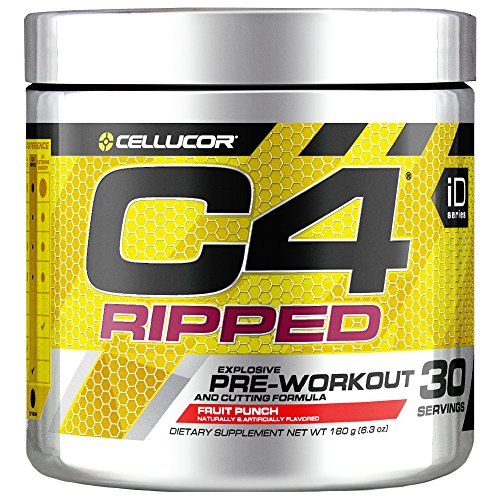 Cellucor - C4 Ripped Fruit Punch, 30 Servings, 180 g (8.34 oz)