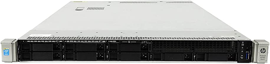Premium HP ProLiant DL360 G9 Gen 9 8 Bay SFF 1U Server, 2X Xeon E5-2630 V3 2.4GHz 8 Core, 32GB DDR4 RAM, P440ar, 4X 1TB 7.2K SATA 2.5 Drives, 2X 1400W PSUs, Rails (Renewed)