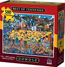 Dowdle Jigsaw Puzzle - Best of Tennessee - 500 Piece