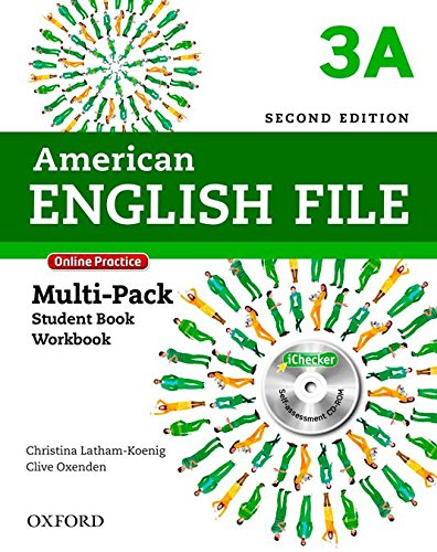 American English File: English File 3 - Multipack. Level A: With Online Practice and iChecker