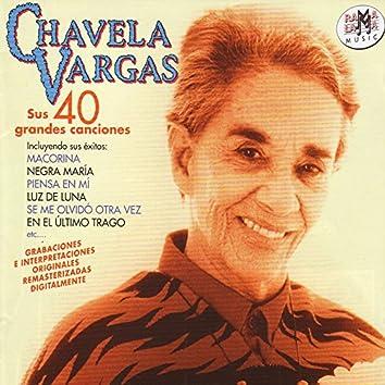 Chavela Vargas. Sus 40 Grandes Canciones