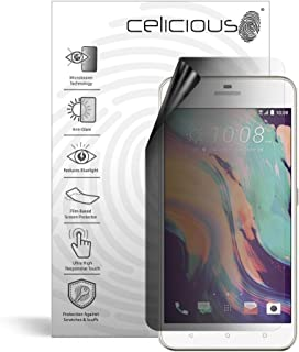 Celicious Privacy Lite 2-Way Anti-Glare Anti-Spy Filter Screen Protector Film Compatible with HTC Desire 10 Lifestyle