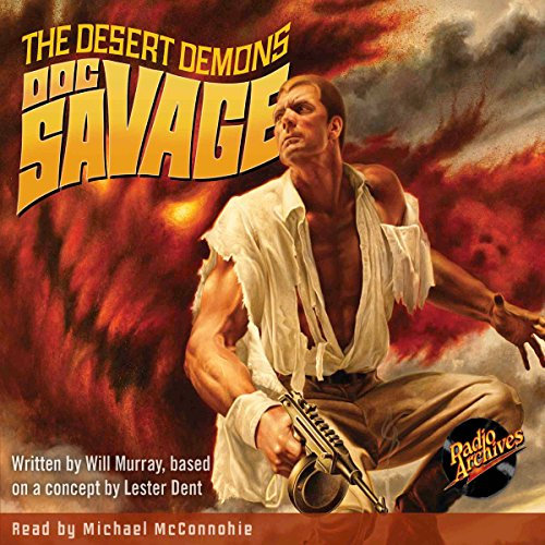 Doc Savage #4: The Desert Demons cover art