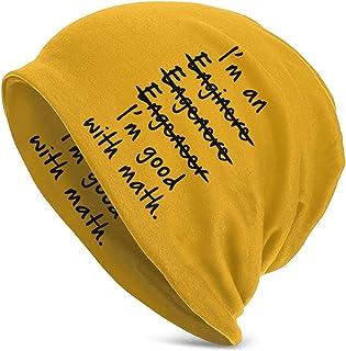 Soy un Ingeniero Bueno con matematicas Sombrero de Punto para Adultos Gorro Calido de Calavera de Esqui Gorro de Gorro
