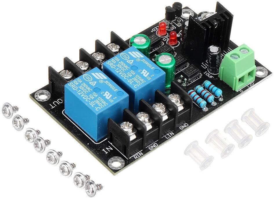 Gorgeous Electronic Components 300WX2 2 Audio Protection Cheap mail order specialty store Speaker De Board