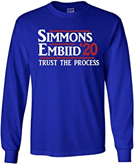 The Silo Long Sleeve Blue Simmons Embiid Philadelphia 2020